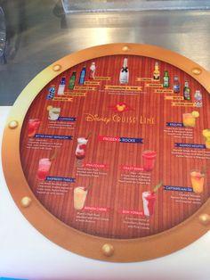 Disney Cruise Line Drinks Crazy Shakes, Disney Lines, Mango Mojito, Daiquiri, Disney Cruise Line, Poker Table, Rum, Raspberry, Champagne