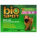 """$10.40-$34.99 """"Kills and repels fleas, ticks, and mosquitos for up to 30 days. Kills flea eggs up to one month and prevents reinfestation. Contains the same Insect Growth Regulator (IGR) found in flea and tick contol products sold by vets. Clearly marked applicator prevents misapplication on cats. Available in 3 and 6 month Supply."""""""