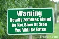 I found this one fun to do, i just pulled a picture of a blank sign off the internet, and plugged in a Zobie warning let me know what you think, and if . Zombie Quotes, Jodi Arias, Walking Dead Art, Blank Sign, Zombie Party, Michael J, Apocalypse, Make Me Smile, Zombies