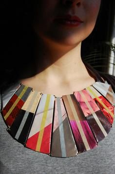 Paper Jewelry by Maria Gil Ulldemolin