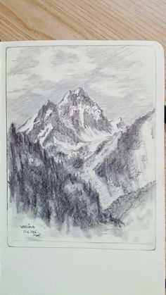 Personal Sketch - Vallüla - Montafon