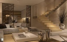 Limba Noir - zdjęcie od Aguzzi Studio Architektury - Salon - Styl Minimalistyczny - Aguzzi Studio Architektury House Inspiration, House Design, Home Decor Inspiration, Home And Living, House Interior, Interior Spaces, Home, Beautiful Houses Interior, Home Decor