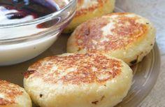 Tvarohové koláčiky s jabĺčkami - Receptik.sk