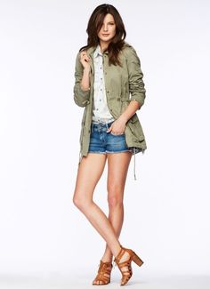 Pepe Jeans Green Parka