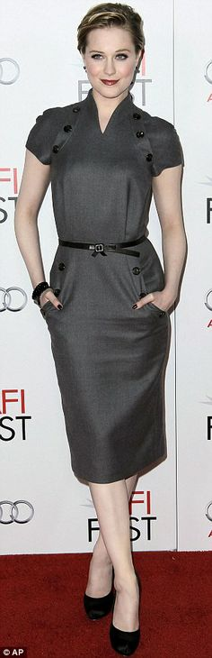 Evan Rachel Wood in Christian Dior at the AFI Fest 2011, October 2011