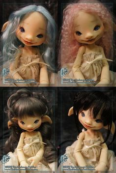 Willow with Face Up - ball jointed doll / BJD - Fair skin