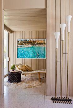 Дом в Палм-Спрингc в стиле 60-х   Интерьеры в журнале AD   Ведущий международный журнал об архитектуре и дизайне интерьеров