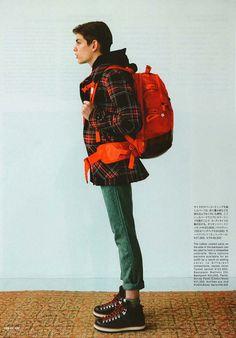 cozm:  Visvim for Sense Magazine - Fall/Winter 2009