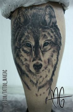 Марта Грин wolf tattoo