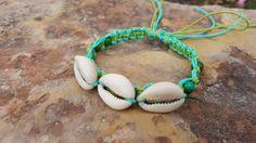 Check out this item in my Etsy shop https://www.etsy.com/listing/244848400/hemp-bracelet-cowrie-shell-bracelet