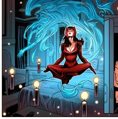 Scarlet Witch - Paul Renaud