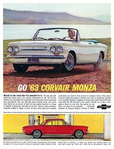 General Motors Chevrolet Corvair Monza