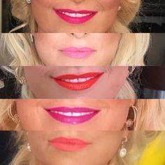 Same face, 4 different lip colour... don't be afraid to explore different shades on your lips, it's fun and could take your makeup look to the next level... #makeup #instamakeup #cosmetic #cosmetics  #fashion #eyeshadow #lipstick #gloss #mascara #palettes #eyeliner #lip #lips #concealer #foundation #powder #eyes #eyebrows #lashes #lash #glue #glitter #crease #primers #base #beauty #beautiful #torontomakeupartist http://ameritrustshield.com/ipost/1550911104619041288/?code=BWF8W69BtII