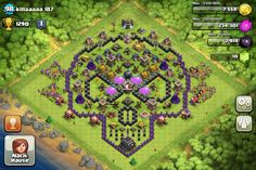 Clash of Clans Halloweenbase