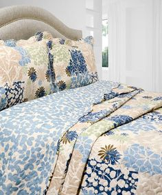This Bethany Vintage Collection Reversible Quilt Set is perfect! #zulilyfinds
