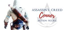 I completely adore Assassin's Creed, especially AC3. I have bought this Assassin's Creed Connor action figure, so I decided to write up a little review.