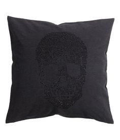 Cotton Cushion Cover $12.95 | H&M US - edgy glam look