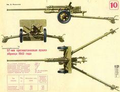 57-мм противотанковая пушка образца 1943 года