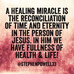 #healing #health #divinehealth #divinehealing #miracles #signs #wonders #glory #gloryrealm #godovertime #godovermatter #jesus #jesusthehealer