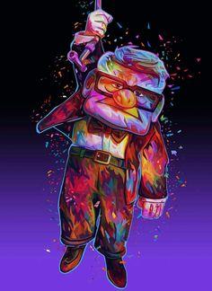 UP Disney Pixar Up, Disney Pics, Cute Disney, Disney Pictures, Joker, Marvel, Animation, Cartoon, Fictional Characters