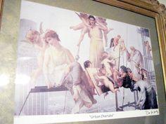 Ltd Edition  Framed Urban Cherubs Seriolithograph By De La Nuez Nelson #Expressionism