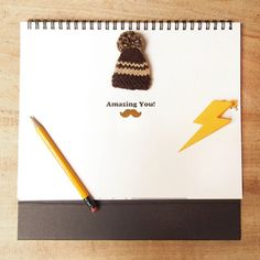 Desk Calendar  Drawing your life Drawing yourself  by DubuDumo, $15.00