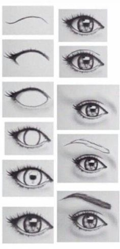 Just a picture that shows you how to draw the eye so it looks more how to draw an eye step by step ccuart Gallery