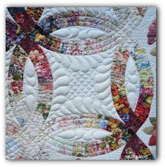 A group blog about hand quilting, hand stitching, hand applique and hand piecing by some of the best hand quilters around the world.