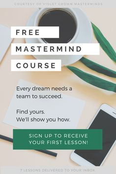 Why has the business world been raving about masterminds? And what's the real deal? You're about to find out! http://freemastermindcourse.com