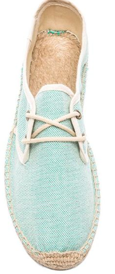 Mint summer shoes