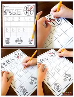 Fun and fresh ideas for teaching alphabet letters to little learners! Love this one to teacher letter formation and build fine motor skills!