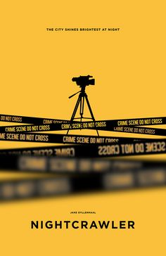 Nightcrawler (2014) ~ Minimal Movie Poster by Chun-Yao Peng #amusementphile