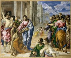 El Greco, Christ Healing the Blind, ca. 1570 | Met Museum
