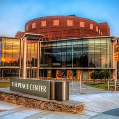 The Peace Center for Performing Arts, downtown Greenville
