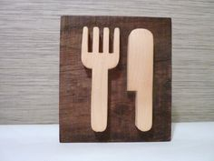 Door sign kitchen sign wood sign wooden sign by Melcreationsbois, €32.00