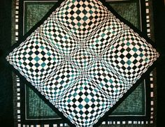 Optical Illusion quilt sold in 2009
