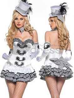 Sweetheart Neckline Womens Fantasy Costume