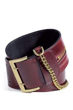 ccchic:    McQueen belt