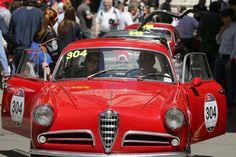 Alfa Romeo at Mille Miglia 2014