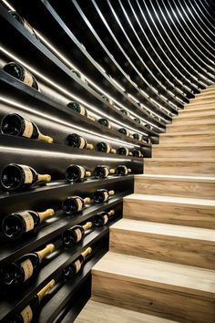 Champagne wall More #WineCellar
