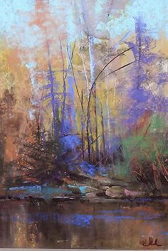 Woodland Song - Pastel Tom Christopher