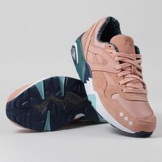 Puma X Alife R698 Shoes - Peach Bud/Lyons Blue