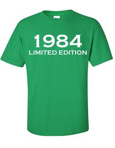 1984 Limited Edition 30th Birthday Party Shirt TShirt by Bargoonys, $19.99