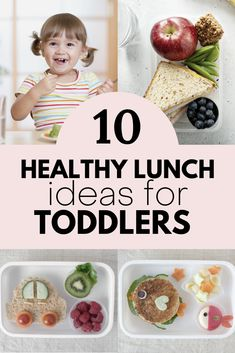 Looking for more ideas on what to make your toddler for their school lunch? Add these to your list... Healthy Toddler Lunches, Easy Toddler Meals, Toddler Food, Scrambled Eggs With Spinach, Spinach And Feta, Protein Pancakes, Ham And Cheese, New Flavour, School Lunch
