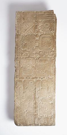 Panel with Inscription | LACMA Collections