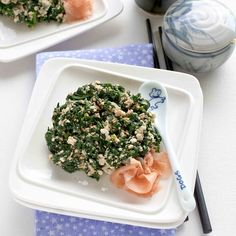 Spinach with Tofu and Sesame Seeds