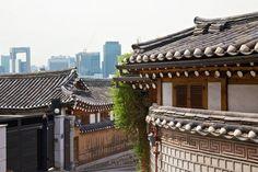 Seoul Samcheongdong Airbnb neighborhood picker
