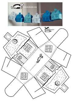 This full body workout routine targets everything from your abs to your arms. - This full body workout routine targets everything from your abs to your arms. This full body workout routine targets everything from your abs to your arms. Box Houses, Paper Houses, Cardboard Houses, Diy And Crafts, Crafts For Kids, Paper Crafts, Foam Crafts, House Template, Glitter Houses