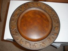 fall charger plate