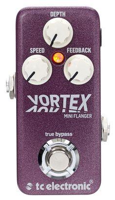 TC Electronic Vortex Mini Flanger, guitar effect http://www.thomann.de/dk/tc_electronic_vortex_mini_flanger.htm